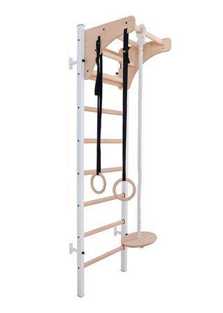 Drabinka gimnastyczna z drewnianymi szczebelkami 212W BenchK 230 x 67 cm