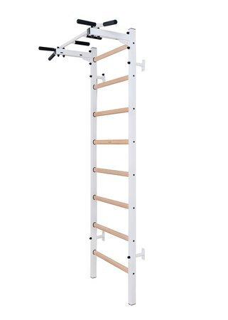 Drabinka gimnastyczna z drewnianymi szczebelkami 221W BenchK 230 x 67 cm