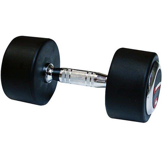 Hantla stała gumowana Insportline 50 kg