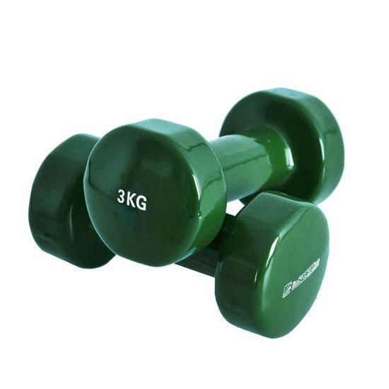 Hantle fitness INSPORTLINE 2x3kg z powłoką winylową