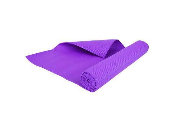 Mata do ćwiczeń jogi 5 mm Hop-Sport fioletowa