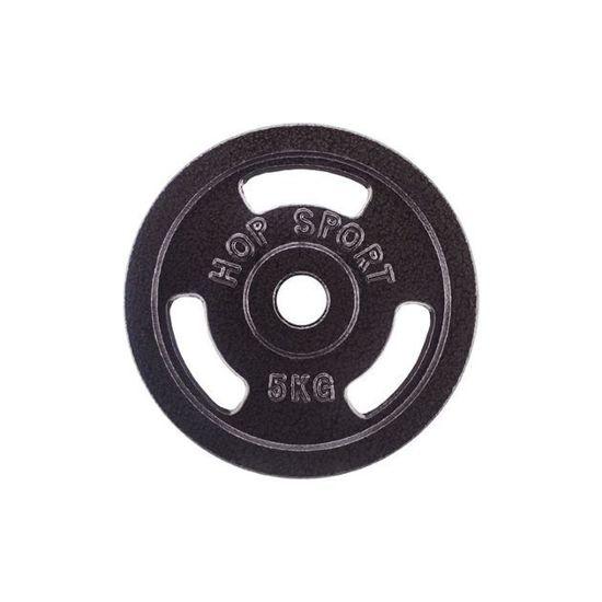 Obciążenie żeliwne 5kg (31 mm) Hop-Sport