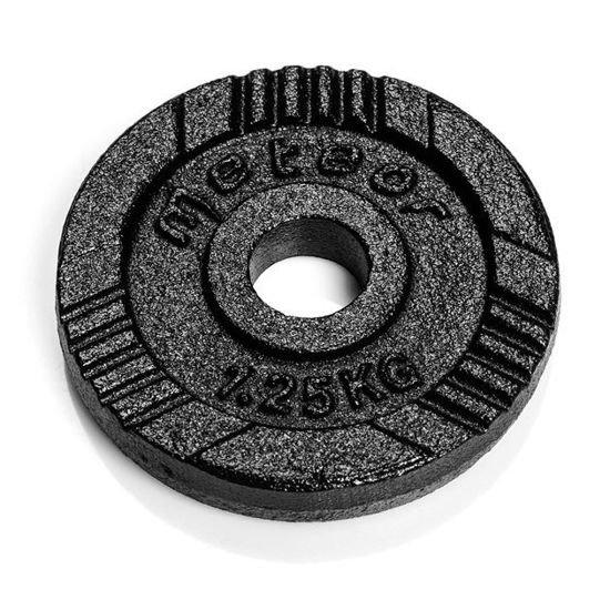 Obciążenie żeliwne Meteor czarne (28 mm) 1,25kg