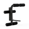 Prasa, przyrząd do ćwiczenia nóg do ławek Semi-Pro MS-A102 Marbo